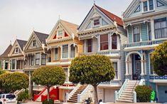 San Francisco Painted Ladies Victorians. Já tive o prazer de vê-las ao vivo!! São muito fofas!