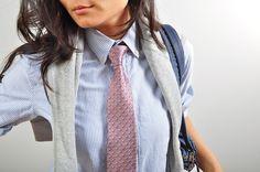 women with ties
