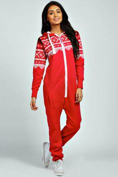 Pink Womens #Onesie #Aztec Onesie, Stay warm this winter in a cozy womens adult onesie!  $30.00
