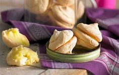 Double vanilla macarons: Did your last attempt at macarons look more like maca-wrongs? Have a crack at this elegant version. It's Fast Ed's favourite, and easier than you might think!
