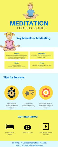 Meditation for kids: A guide to meditation for children