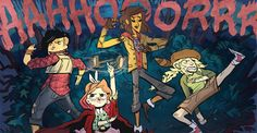 'Lumberjanes' is an all-ages comic book, featuring a predominantly female cast from a predominantly female creative team. Set at a summer camp, 'Lumberjanes' is about the mysterious misadventures of a group of girls. The Mary Sue is a feminist website with reviews, and op-eds about comics. Sloane, J. (2014, April 18). Comics Review: Lumberjanes [Review of the book Lumberjanes]. The Mary Sue. Retrieved from http://www.themarysue.com/comics-review-lumberjanes/