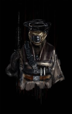 Star Wars Portraits on Behance #Boushh #starwars