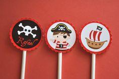 Ideias do Studio: Festa Pirata (nova!) Pirate Party, Nova, Desserts, Birthday Ideas, Parties, Party Ideas, Baby, Themed Parties, Paper Engineering