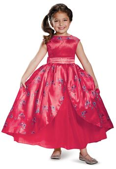 Elena of Avalor Ball Gown Deluxe Child Costume from Buycostumes.com
