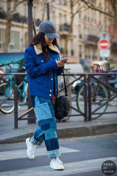 Christina Paik Street Style Street Fashion Streetsnaps by STYLEDUMONDE Street Style Fashion Photography