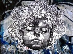 Swoon paste-up