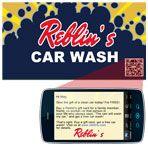 Mobile Commerce & Personalization Promotion Direct Marketing, Car Wash, Promotion