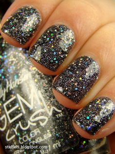 "Sally Hansen Gem Crush ""Glitz Gal"", via Steffels"