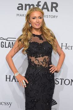 More Pics of Paris Hilton Half Up Half Down (3 of 5) - Paris Hilton Lookbook - StyleBistro