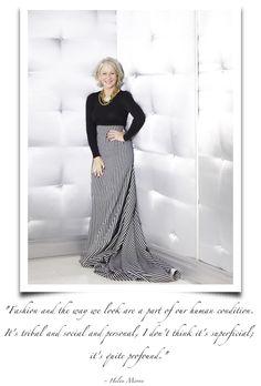 Fashion: for its tribal, social & personal profundity.