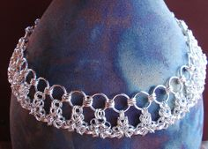 """""""On the Edge"""" sterling silver necklace crafted by Marsha Caristi at """"SomethingSilverCM"""""""