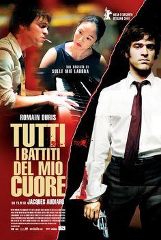 DE BATTRE MON COEUR S'EST ARRETE aka THE BEAT THAT MY HEART SKIPPED (Dir. Jacques Audiard, 2005) Italian poster