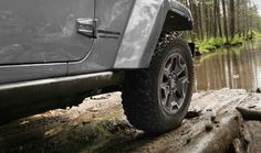 Go ahead...play in the puddles! #Jeep