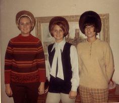 Three Girls with Big Hair, 1969