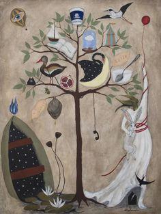 "Saatchi Art Artist Rebecca Rebouche; Painting, ""I Wish You Would"" #art"
