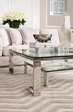 Neutral,  Classic Living Room Design