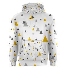 Pastel+Random+Triangles+Modern+Pattern+Men's+Pullover+Hoodies Triangles, Hoodies, Sweatshirts, Men's Fashion, Pastel, Pullover, Random, Modern, Sweaters