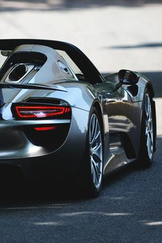 Porsche 918 - the hybrid - only 918 will be made.