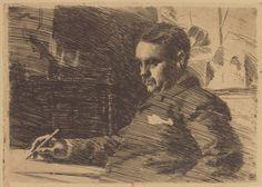 Anders Zorn | 1890 | Estampe (gravure eau forte)