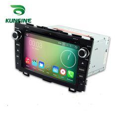 KUNFINE Android 7.1 Quad Core 2GB Car DVD GPS Navigation Player Car Stereo for Honda CR-V 2006-2011 Radio headunit  #Affiliate