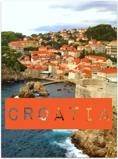 DUBROVNIK CROATIA - A visit to the Dalmatian coast is not complete without a stop in Dubrovnik. The recognizable orange roof tops of the Old Town and the rugged coast make Dubrovnik a postcard photo destination.