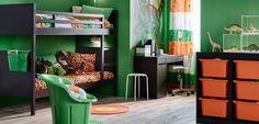 Habitaciones juveniles de Ikea - http://www.decoora.com/habitaciones-juveniles-de-ikea/