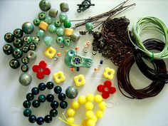 Pipa the Latest: journal of a messy crafter: The 8th Bead Soup knocked on my door (the soup I sent to Silvia)