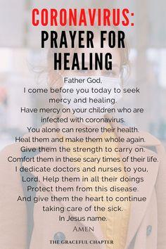 Prayer Against Coronavirus - The Graceful Chapter