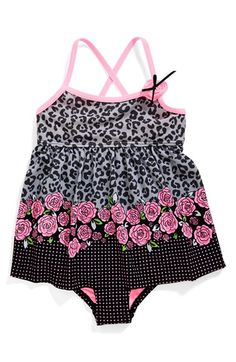 Hula Star 'Rosie Day' One-Piece Swimsuit (Toddler Girls & Little Girls) available at #Nordstrom
