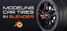 Modeling Car Tires in Blender - BlenderNation Blender Tutorial, 3d Tutorial, Game Dev, 3d Artwork, Blender 3d, Game Assets, 3d Modeling, Robotics, Tired