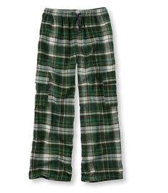Boys' Flannel Cargo Pants from L.L.Bean on Catalog Spree, my personal digital mall.