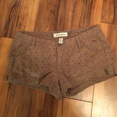 Abercrombie short shorts Girls Abercrombie shorts size 14 Abercrombie & Fitch Shorts