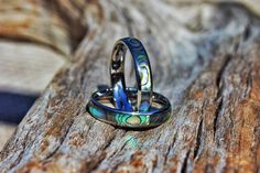 Devocean Jewelry   Rings   Koa Wood Inlay