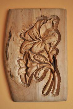 Drewno lipowe wykonałem ręcznie