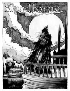 Bloodborne Poster by ZackPalermo.deviantart.com on @DeviantArt