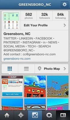 IG: @greensboro_nc's Profile • #Instagram