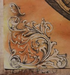 This is a fun and fabulous Faux Antique Embellishments Technique! Learn how to turn printed cardstock into faux rusted metal pieces. Amazing!