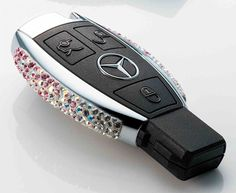 Limited Edition Hand Crafted Swarovski Mercedes Keys. I should get this done for mine!