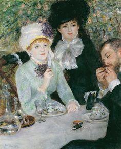 Auguste Renoir, Nach dem Mittagessen (La fin du déjeuner), 1879
