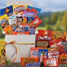 All Time Favorites Snack Gift Basket | Birthday Gift or College Back to School Student Gift - List price: $56.19 Price: $50.56