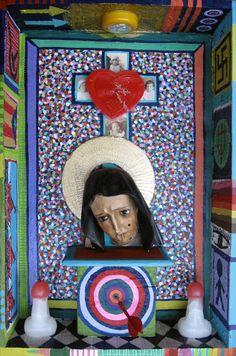 La Madre  -Técnica Mixta- 63x40x13cm -2011