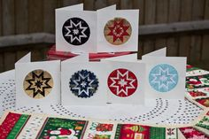 Guest Tutorial: Janet's Somerset Star Folded Card Decoration