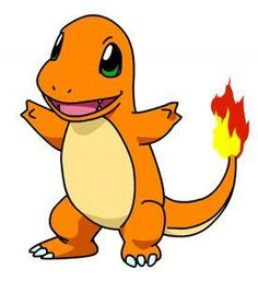 My favorite Pokemon: Charmander. For some reason the fire pokemon are always the cutest...