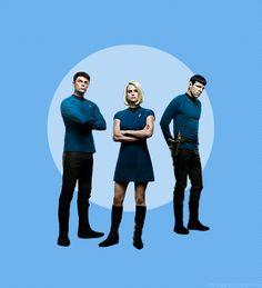 Team Blue: Spock, Bones, and Carol.  Special Skills: Science.