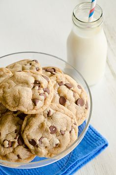 Peanut butter Chocolate Chip cookies - I have made these 3 times in the last 2 weeks and everyone loves them!