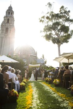 Beautiful Outdoor Wedding In Balboa Park