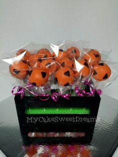 Pebbles Flintstones Cake pops