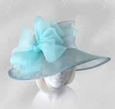 On Sale Now  Kentucky Derby Hat by ffortissimo on Etsy, | http://topworldfashionmodels54.blogspot.com