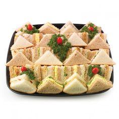 Party Finger Sandwiches | ... Trays » Sandwich and Wrap Platters » Finger Sandwich Platter